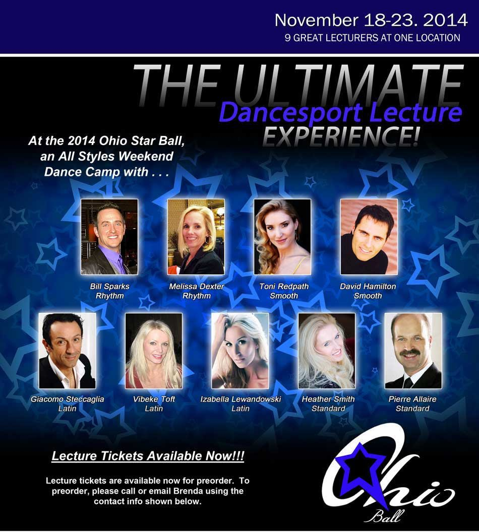 The Ultimate Dancesport Lecture Experience