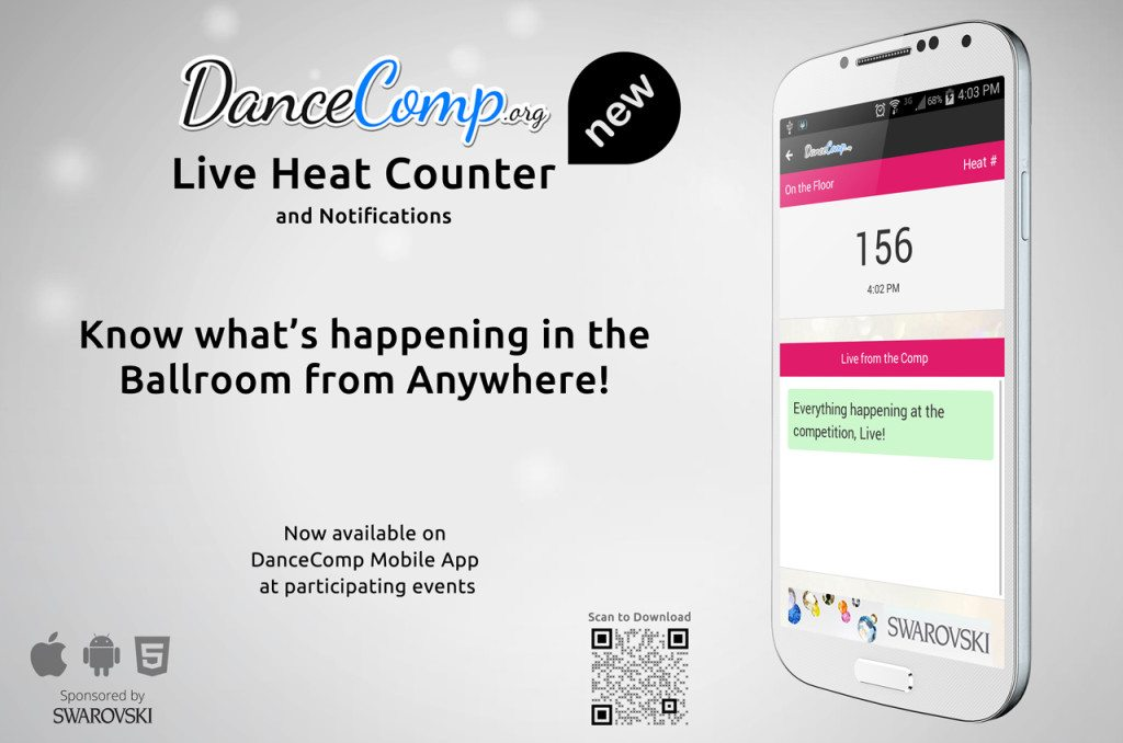 Live Heat Counter…direct to your phone and hotel television at the Ohio Star Ball